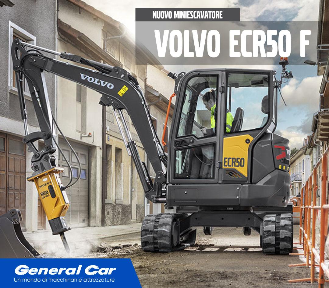 Escavatore Volvo ECR50 Generazione F