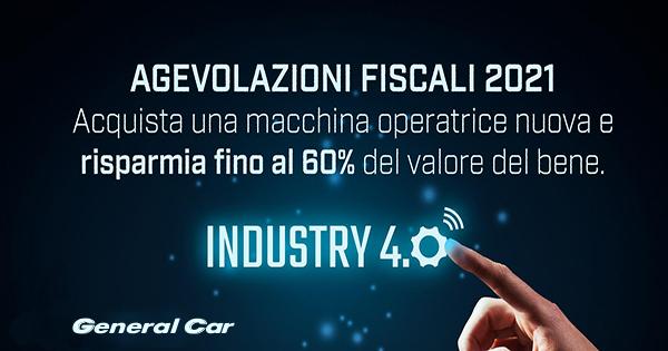 Incentivi Industria 4.0 General Car